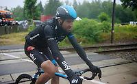 Xabier Zandio (ESP/SKY)<br /> <br /> 2014 Tour de France<br /> stage 5: Ypres/Ieper (BEL) - Arenberg Porte du Hainaut (155km)