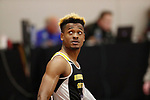 NAPERVILLE, IL - MARCH 11: Jamal Watkins of Birmingham Southern Northern looks on after the men's 60 meter dash at the Division III Men's and Women's Indoor Track and Field Championship held at the Res/Rec Center on the North Central College campus on March 11, 2017 in Naperville, Illinois. (Photo by Steve Woltmann/NCAA Photos via Getty Images)