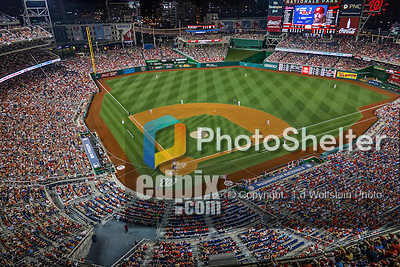 28 May 2016: A sellout crowd of 38,274  enjoy an evening at the ballpark, taking in a game between the St. Louis Cardinals and the Washington Nationals at Nationals Park in Washington, DC. The Cardinals defeated the Nationals 9-4 to take a 2-games to 1 lead in their 4-game series. Mandatory Credit: Ed Wolfstein Photo *** RAW (ARW) Image File Available ***