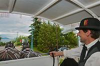 CA- Fairmont Le Manor Richelieu Carriage Ride, Charlevoix Quebec CA 7 14