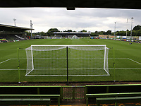 General view of Forest Green Rovers FC during Forest Green Rovers vs MK Dons, Caraboa Cup Football at The New Lawn on 8th August 2017