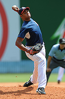 Jonathan Vargas during a game against the Greenville Drive at McCormick Field, Asheville, NC August 15, 2010. Greenville won the game 10-6.