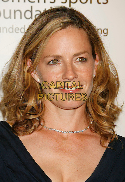 "ELISABETH SHUE.Women's Sports Foundation Presents ""The Billies"" Gala held at the Beverly Hilton, Beverly Hills, California, USA..April 11th, 2007 .headshot portrait diamond necklace .CAP/ADM/RE.©Russ Elliot/AdMedia/Capital Pictures"