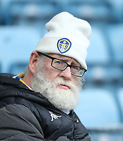 Leeds fan<br /> <br /> Photographer Rob Newell/CameraSport<br /> <br /> The EFL Sky Bet Championship - Millwall v Leeds United - Saturday 5th October 2019 - The Den - London<br /> <br /> World Copyright © 2019 CameraSport. All rights reserved. 43 Linden Ave. Countesthorpe. Leicester. England. LE8 5PG - Tel: +44 (0) 116 277 4147 - admin@camerasport.com - www.camerasport.com