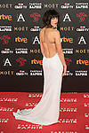 Nerea Barros attends 30th Goya Awards red carpet in Madrid, Spain. February 06, 2016. (ALTERPHOTOS/Victor Blanco)
