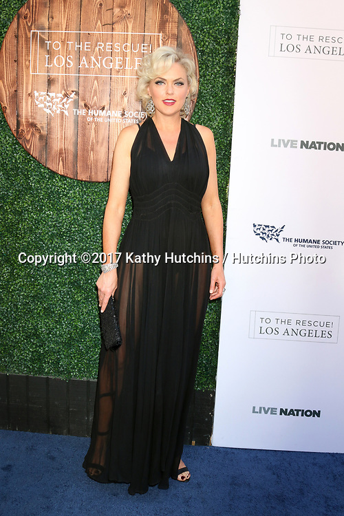 LOS ANGELES - APR 22:  Elaine Hendrix at the 2017 The Humane Society Gala at Parmount Studios on April 22, 2017 in Los Angeles, CA