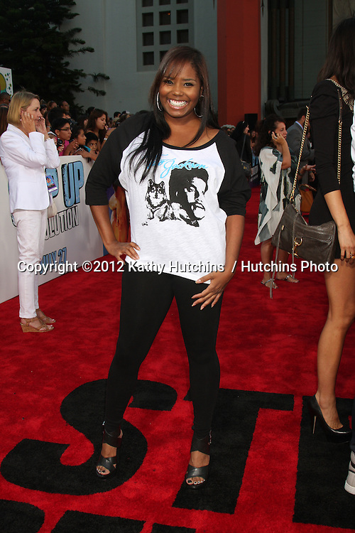 """LOS ANGELES - JUL 17:  Shar Jackson arrives at the """"Step Up Revolution"""" Premiere at Graumans Chinese Theater on July 17, 2012 in Los Angeles, CA"""