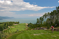 TAE- Le Point Cardinal Rest & Golf Clubhouse at Fairmont Le Manoir Richelieu, Charlevoix Quebec CA