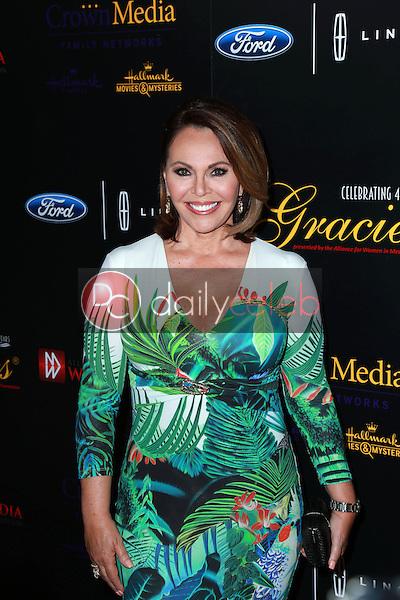Maria Elena Salinas<br /> at the 40th Anniversary Gracies Awards, Beverly Hilton, Beverly Hills, CA 05-19-15<br /> David Edwards/DailyCeleb.com 818-249-4998