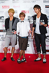 June 23, 2012, Chiba, Japan - Sonar Pocket poses on the red carpet during the MTV Video Music Awards Japan event. (Photo by Christopher Jue/AFLO)