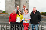 Munster Fleadh 2016 : Pictured at Listowel Castle to announce that Listowel will host the 2016 Munster Fleadh were in front Gerry Behan, Cahirperson Listowel Vintners, Marie Stack, Love Listowel, Marie Gorman & Seanie Broderick, Treasurer, Listowel Vintners. Back : Brendan Kennelly, PRO Listowel Comholtas & Eugene Moriarity, chairperson, Listowel Comholtas.