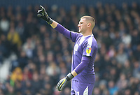 West Bromwich Albion's goalkeeper Sam Johnstone<br /> <br /> Photographer Stephen White/CameraSport<br /> <br /> The EFL Sky Bet Championship - West Bromwich Albion v Preston North End - Saturday 13th April 2019 - The Hawthorns - West Bromwich<br /> <br /> World Copyright © 2019 CameraSport. All rights reserved. 43 Linden Ave. Countesthorpe. Leicester. England. LE8 5PG - Tel: +44 (0) 116 277 4147 - admin@camerasport.com - www.camerasport.com