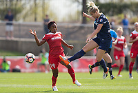 Boyds, MD - Saturday April 15, 2017: Francisca Ordega during a regular season National Women's Soccer League (NWSL) match between the Washington Spirit and the North Carolina Courage at Maureen Hendricks Field, Maryland SoccerPlex.