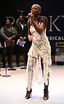 "Kimberly Nichole performing during the Performance Presentation of ""Rocktopia"" at SIR Studios on January 16, 2018 in New York City."