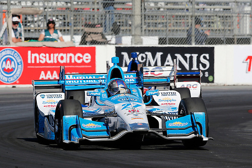 15-17 April, 2016, Long Beach, California USA<br /> 27 Marco Andretti<br /> ©2016, Perry Nelson<br /> LAT Photo USA