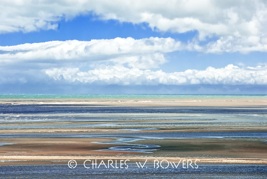 Beach, Oceans, Clouds and Sky along the  Kahurangi park shoreline.<br /> <br /> -LImited Edition of 50 Pirnts.