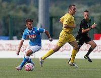 durante l amichevole Napoli  Anaune a Dimaro 21 Luglio 2015<br /> <br /> Preseason summer training of Italy soccer team  SSC Napoli  in Dimaro Italy July 11, 2015