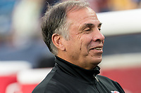 FOXBOROUGH, MA - AUGUST 3: Bruce Arena of New England Revolution during a game between Los Angeles FC and New England Revolution at Gillette Stadium on August 3, 2019 in Foxborough, Massachusetts.