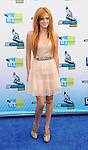 SANTA MONICA, CA - AUGUST 19: Bella Thorne arrives at the 2012 Do Something Awards at Barker Hangar on August 19, 2012 in Santa Monica, California.