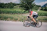 Adam Hansen (AUS/Lotto-Soudal)<br /> <br /> Stage 5: Gstaad &gt; Leukerbad (155km)<br /> 82nd Tour de Suisse 2018 (2.UWT)