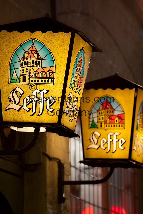 Belgium, West-Flanders, Bruges: Beer Lanterns