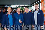James Sheehan, Ardfert, Peter Canavan, Dick Dalton and Geared Sheehan, Ardfert pictured last Saturday at the opening of Dick Dalton's - Garden & Tools Supplies in Abbeyfeale