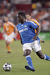 10 November 2007:  Eddie Johnson (7) of the Kansas City Wizards.  The MLS Houston Dynamo defeated the Kansas City Wizards 2-0 at Robertson Stadium, Houston, Texas to capture the 2007 MLS Western Conference title and to advance to the MLS Cup championship final on Saturday, November 18th.