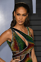 04 March 2018 - Los Angeles, California - Joan Smalls. 2018 Vanity Fair Oscar Party hosted following the 90th Academy Awards held at the Wallis Annenberg Center for the Performing Arts. <br /> CAP/ADM/BT<br /> &copy;BT/ADM/Capital Pictures