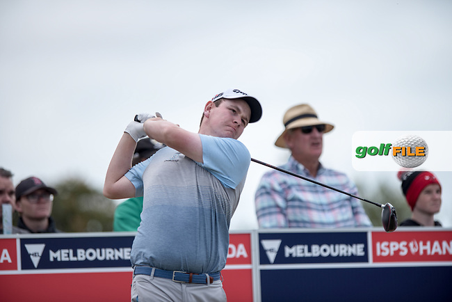 Robert Macintyre (SCO) during the 2nd round of the VIC Open, 13th Beech, Barwon Heads, Victoria, Australia. 08/02/2019.<br /> Picture Anthony Powter / Golffile.ie<br /> <br /> All photo usage must carry mandatory copyright credit (&copy; Golffile | Anthony Powter)