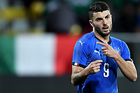 Patrik Cutrone of Italy reacts during international friendly match between Italy U21 and Croatia U21 at stadio Benito Stirpe, Frosinone, March 25, 2019 <br /> Photo Andrea Staccioli / Insidefoto