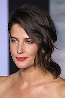 "HOLLYWOOD, LOS ANGELES, CA, USA - MARCH 13: Cobie Smulders at the World Premiere Of Marvel's ""Captain America: The Winter Soldier"" held at the El Capitan Theatre on March 13, 2014 in Hollywood, Los Angeles, California, United States. (Photo by Xavier Collin/Celebrity Monitor)"