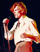 David Bowie - performing live on the Diamond Dogs Tour at the Music Hall in Boston MA USA -  Nov 15, 1974.  Photo credit: Pownall/Dalle/IconicPix **UK ONLY**