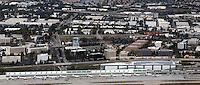 aerial photograph San Jose Minetta airport, Santa Clara, California