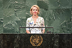 LOS general debate &ndash; 27 September<br /> <br /> PM<br /> <br /> Her Excellency Aurelia FRICK Minister for Foreign Affairs, Justice and Culture of Liechtenstein