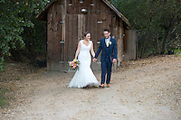 Josh & Lauren Carlton go for a walk at the Temecula Creek Inn