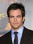 Chris Pine attends the Twentieth Century Fox's L.A. Premiere of Unstoppable held at Regency Village Theater in Westwood, California on October 26,2010                                                                               © 2010 Hollywood Press Agency