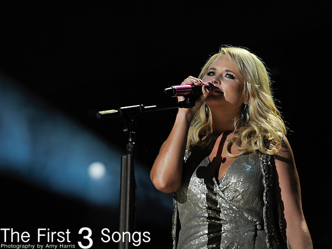 Miranda Lambert performs at LP Field during the 2011 CMA Music Festival on June 12, 2011 in Nashville, Tennessee.