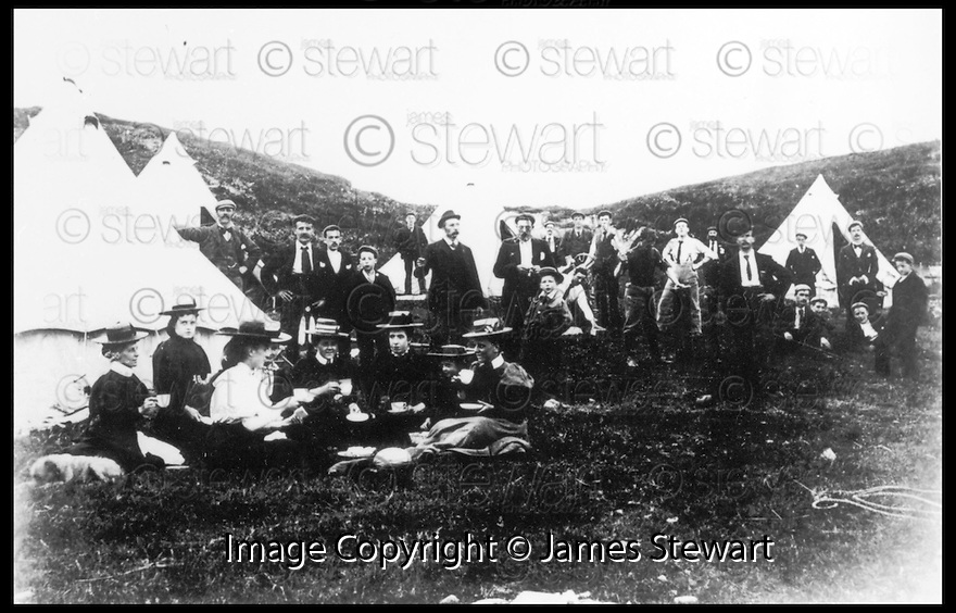 30th Mar 99                            Copyright Pic : James Stewart .Ref :  990182                         .File Name : stewart02-carbeth huts 300399                        .COLLECT PICTURE SHOWING CAMPERS AT THE SITE IN CARBETH TAKEN AROUND 1890......(SEE COPY FROM TIM BUGLER).Payments to :-.James Stewart Photo Agency, Stewart House, Stewart Road, Falkirk. FK2 7AS      Vat Reg No. 607 6932 25.Office : 01324 630007        Mobile : 0421 416997.E-mail : JSpics@aol.com.If you require further information then contact Jim Stewart on any of the numbers above.........