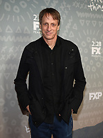 "SANTA MONICA - FEBRUARY 26: Tony Hawk arrives at the red carpet event for FX's ""Better Things"" Season Three Premiere at the The Eli and Edythe Broad Stage on February 26, 2019 in Santa Monica, California. (Photo by Frank Micelotta/FX/PictureGroup)"