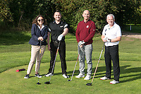 Team Williams & Gylnn - from left, Lisa, Paul Lewis, Steve Alcock and Shaun Finn