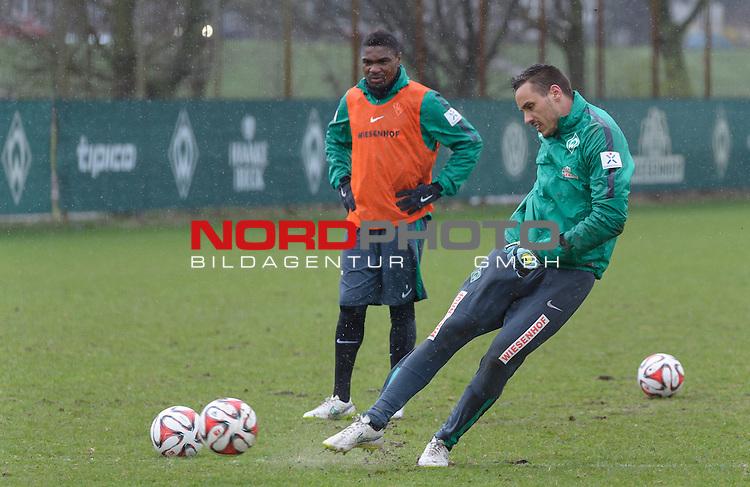 31.03.2015, Trainingsgelaende, Bremen, GER, 1.FBL, Training Werder Bremen, im Bild Raphael Wolf (Bremen #1)<br /> <br /> Foto &copy; nordphoto / Frisch
