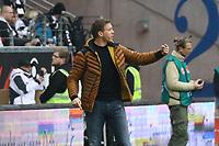 Trainer Julian Nagelsmann (TSG 1899 Hoffenheim) - 02.03.2019: Eintracht Frankfurt vs. TSG 1899 Hoffenheim, Commerzbank Arena, 24. Spieltag Bundesliga, DISCLAIMER: DFL regulations prohibit any use of photographs as image sequences and/or quasi-video.