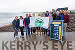 Waterville Tidy Towns, IRD, Sea Synergy & WEMN celebrated on Wednesday having been awarded with the  Green Coast Award, pictured here l-r; Rebecca Murphy, Megan Gaskin, Michael Kelleher(KCC), Eugene Dennehy, Trish O'Sullivan, Susan Baughman, Lucy Hunt, Tony Donnelly, Cllr Norma Moriarty, John Duggan, Alan McGuirk, Albert Walsh & Pat Everett.