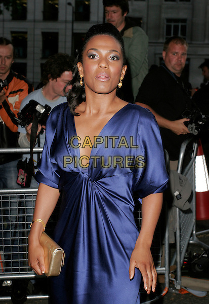 FREEMA AGYEMAN.At the 4th Aunnual Glamour Women Of The Year Awards, Berkely Square Gardens, London, England, .June 5th 2007..half length blue dress funny face.CAP/AH .©Adam Houghton/Capital Pictures.