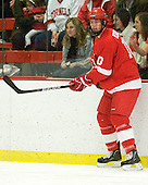 Patrick Kennedy (Cornell - 10) - The visiting Cornell University Big Red defeated the Harvard University Crimson 2-1 on Saturday, January 29, 2011, at Bright Hockey Center in Cambridge, Massachusetts.