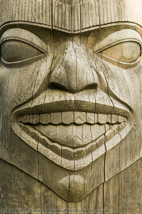 Totem Pole,  Juneau, Alaska