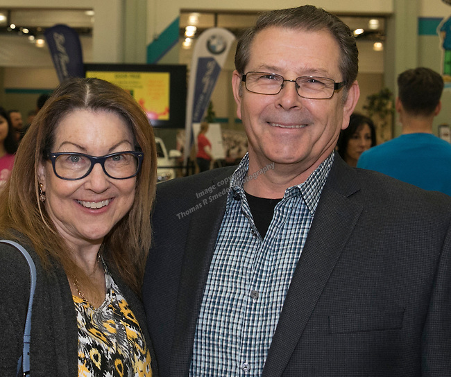 Lavonne and Eric Burr during the Jack T. Reviglio Cioppino Feed & Auction at the Donald W. Reynolds Facility in Reno on Saturday, February 25, 2017.