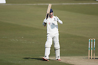 Dane Vilas of Lancashire CCC acknowledges his half century during Middlesex CCC vs Lancashire CCC, Specsavers County Championship Division 2 Cricket at Lord's Cricket Ground on 13th April 2019