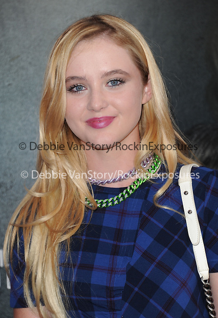 Kathryn Newton <br /> <br /> <br />  at The World premiere of INSIDIOUS: CHAPTER 2 held at Universal CityWalk in Universal City, California on September 10,2013                                                                   Copyright 2013 Hollywood Press Agency