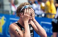 15 AUG 2009 - LONDON, GBR - Will Clarke - ITU World Championship Series Mens Triathlon (PHOTO (C) NIGEL FARROW)